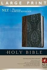 NLT Premium Slimline Reference Bible, Large Print, TuTone 8290