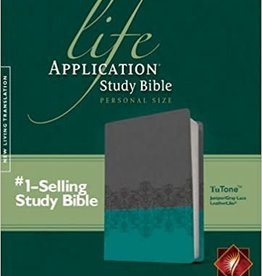 Tyndale NLT Life Application Study Bible, Personal Size, TuTone 7054