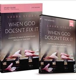 Voskamp, Ann When God Doesn't Fix It Study Guide with DVD: Learning to Walk in God's Plans Instead of Our Own