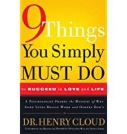 Cloud, Henry 9 Things You Simply Must Do To