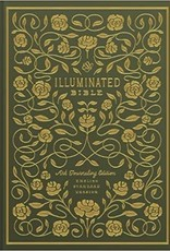 Tanamachi, Dana ESV Illuminated Bible,  Green 7958