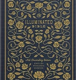 ESV Illuminated Bible, Art Journaling Edition (Navy) 8313