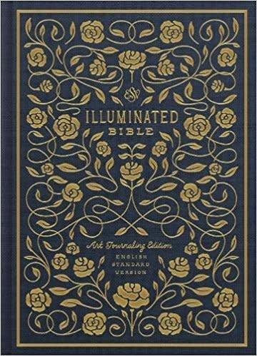 ESV Illuminated Bible, Art Journaling Edition (Navy) 8313
