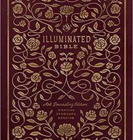 Tanamachi, Dana ESV Illuminated Bible, Art Journaling Edition (TruTone, Burgundy) 8320