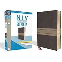 NIV Thinline Bible Giant Print Brown/Tan 8648