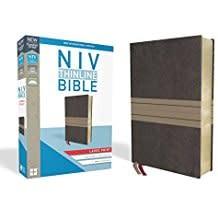 NIV Thinline Bible Large Print Brown/Tan 8365