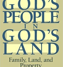 Wright, Christopher J H God's People in God's Land 3214