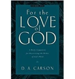 Carson, D A For The Love of God Vol. 1 8156