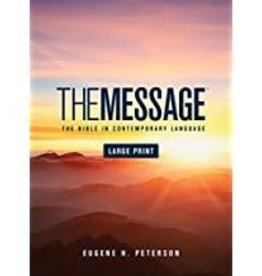 Peterson, Eugene H Message Bible, Large Print 8457