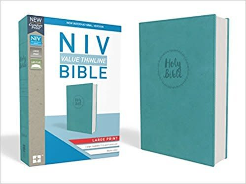 NIV Value Thinline Bible Large Print 8556