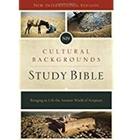 Zondervan NIV Cultural Backgrounds Study Bible -Red Letter  Edition 1589