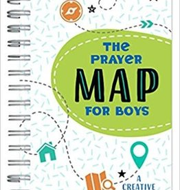 Barbour Staff Prayer Map for Boys, The 5584