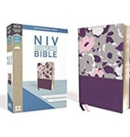 NIV Thinline Bible Leathersoft Purple Red Letter 8907
