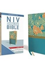 NIV Thinline Large Print Blue Red Letter 8396