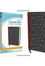 NIV Thinline Bible for Teens Black Red Letter 8679