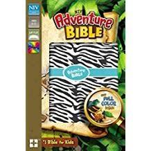 NIV Adventure Bible Zebra Print 9157