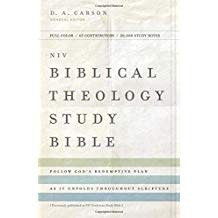 NIV Biblical Theology Study Bible 0405 Hardcover