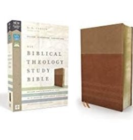 NIV Biblical Theology Study Bible tan/brown 0528