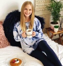 Scarlett Ellie PJ Tee/Legging Tie Dye Kate