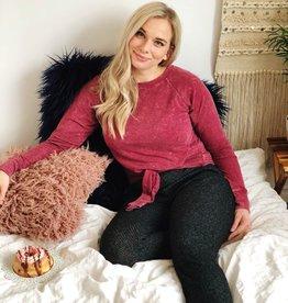 Scarlett Ellie PJ Knot Top/Pleated Trouser Flora