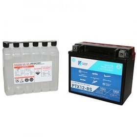 Parts Battery, Piaggio OEM Y/PTX12-BS Sealed Maintenance Free