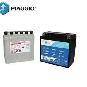 Parts Battery, Piaggio OEM Y/PTX14-BS Maintenance Free