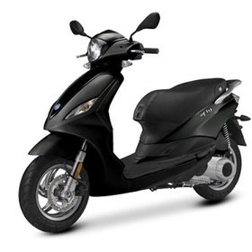 Vehicles Piaggio, 2018 Fly50 4T-4V Graphite Black