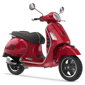 Vehicles Vespa, 2019 GTS300 ABS/ASR Red