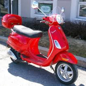 Vehicles 2007 Vespa LX150 Red (ALREADY SOLD)