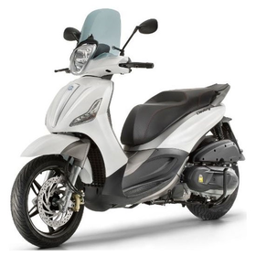 Vehicles Piaggio, 2018 BV350 ABS/ASR Gloss White