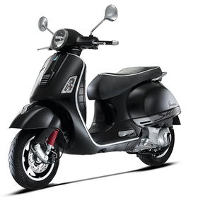 Vehicles 2016 Vespa GTS300 Super Black