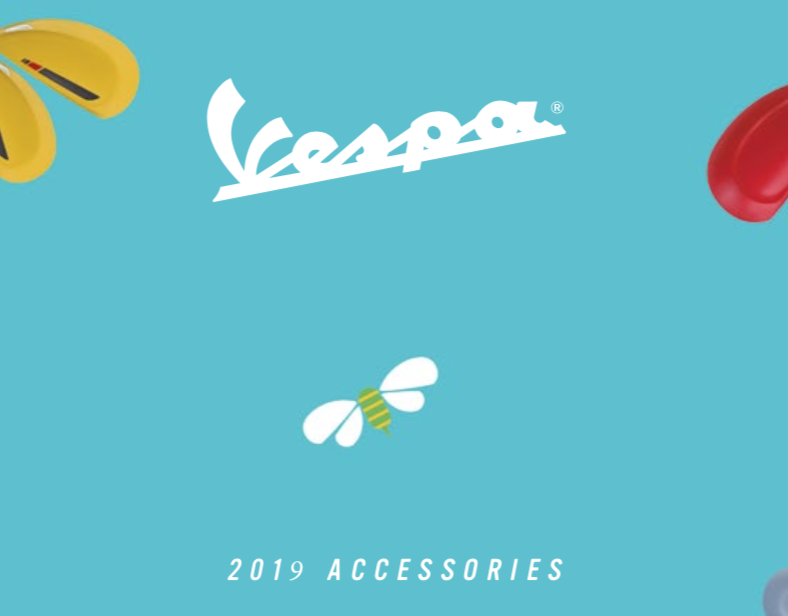 Vespa accessory catalogue