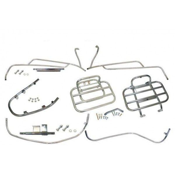 Accessories Chrome Kit (5 Pcs) Vespa LX 2006-2013
