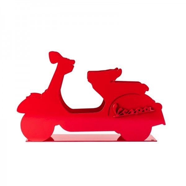 Lifestyle Letter Rack, Vespa Red