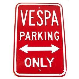 Lifestyle Parking Sign - Vespa Parking Only