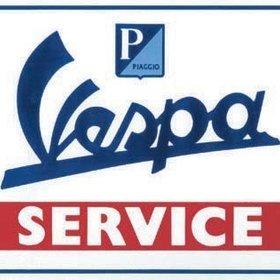 Lifestyle Vespa Tin Sign Vespa Service