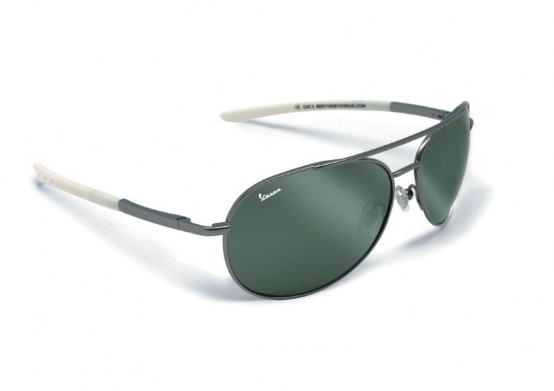 Lifestyle Sunglasses, Vespa Green Metal (Unisex)
