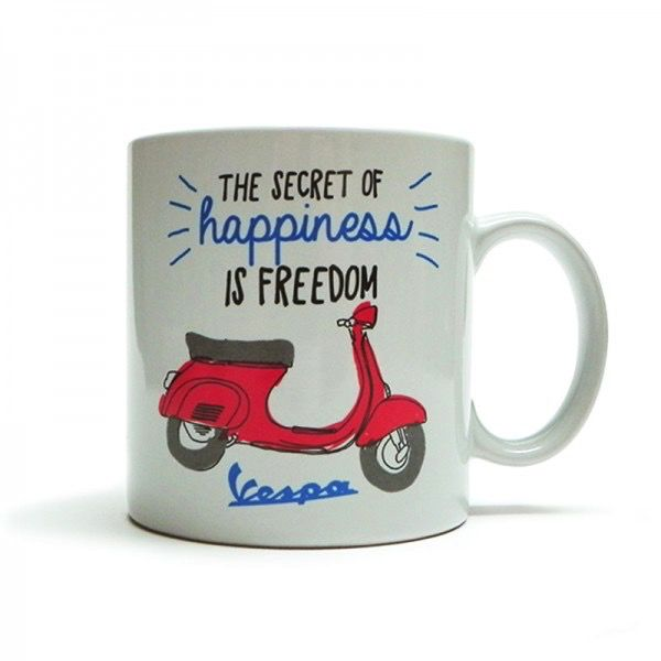 "Lifestyle Mug, Primavera ""The secret of happiness"""