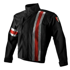 Apparel Jacket Men's Corazzo 5.0 Black (Red Stripe) Small
