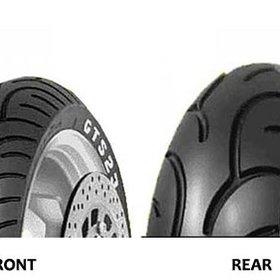 "Parts 140/70-16"" Rear Tire"
