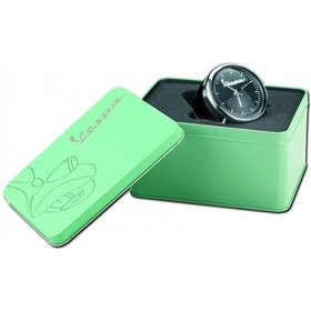 "Lifestyle Desk Clock Vespa Fenderlight Navy Blue 3"""