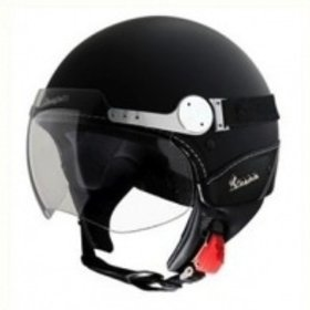 Apparel Helmet, Vespa GTS Super Sport Matt Black, Med