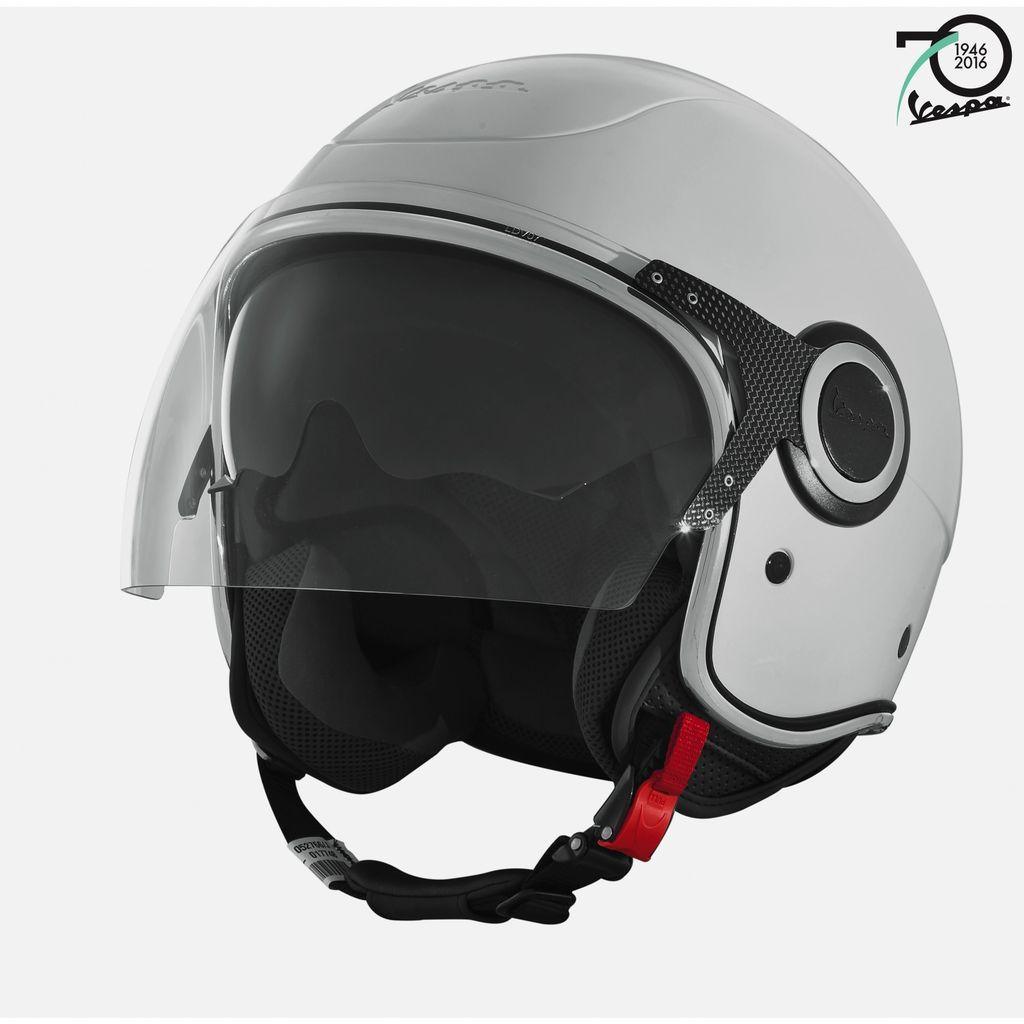 Apparel Helmet, Vespa VJ 70th Anniversary Light Blue or Silver