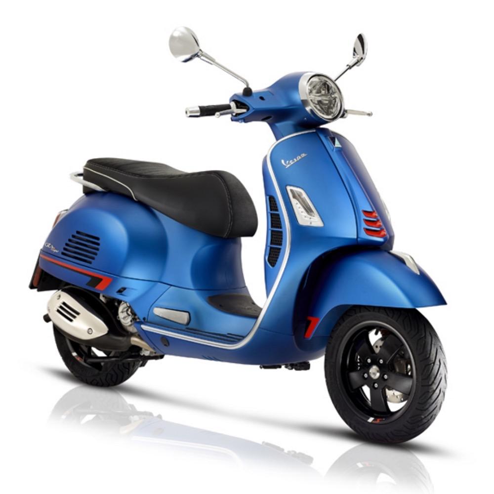 Vehicles Vespa, 2020 GTS300 HPE SuperSport Blue Vivace