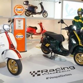 Vehicles Vespa, 2020 GTS300 HPE Limited Edition 60's.
