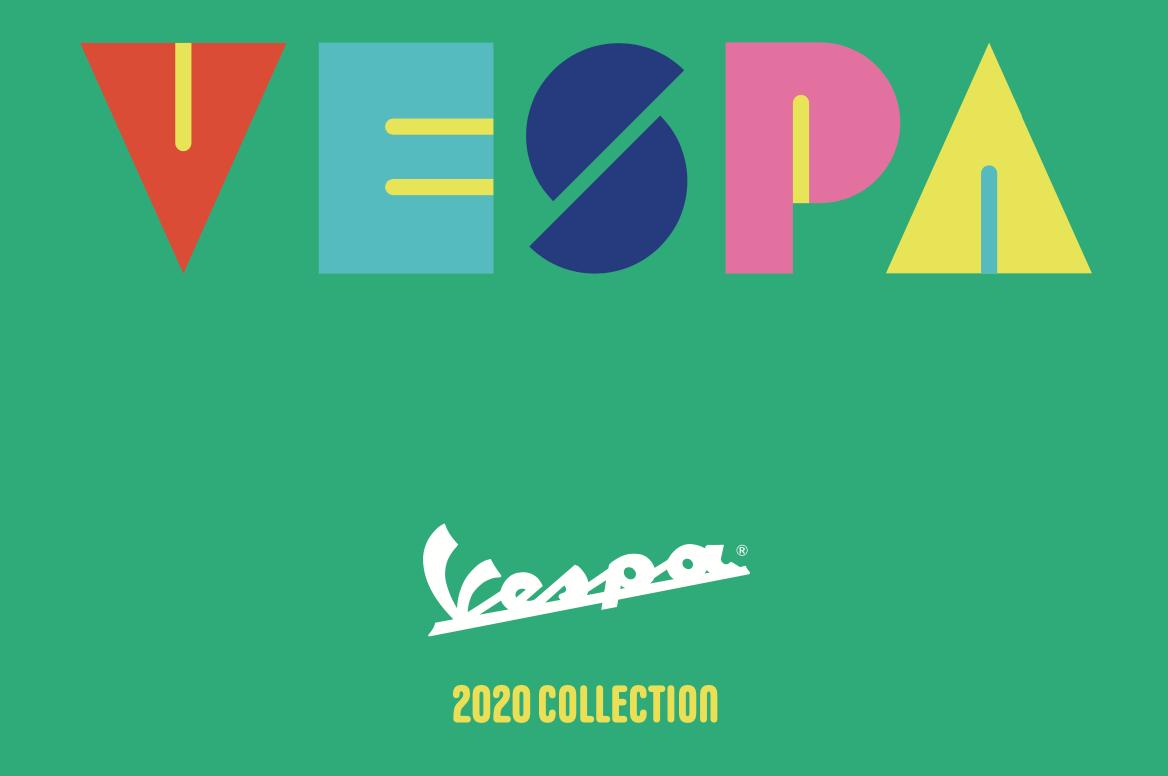 2020 Vespa model line up