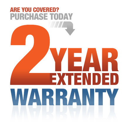 Vehicles 2 Year MFG Extended Warranty