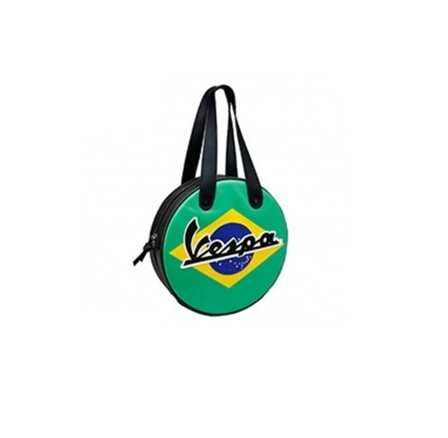 Lifestyle Wheel Shape Bag Brazil Flag