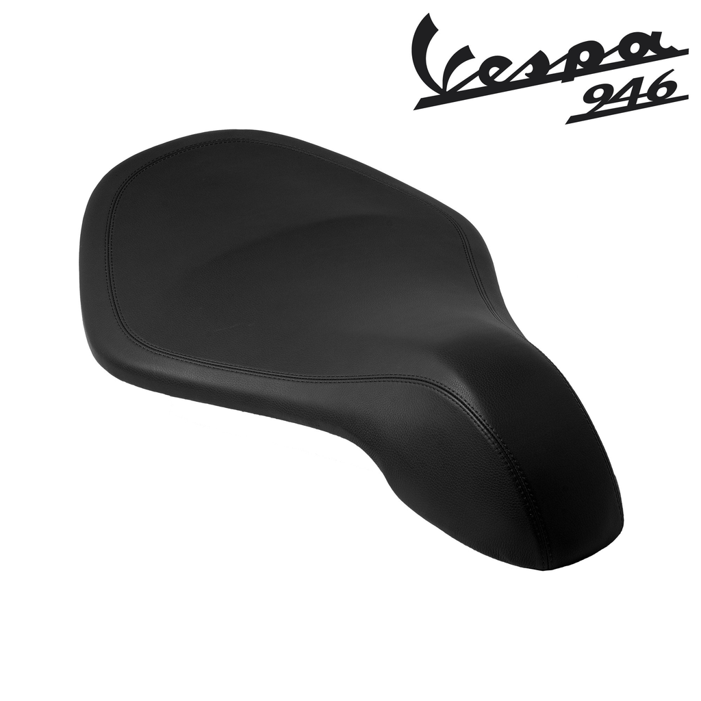 Accessories Black Leather Saddle Vespa 946