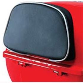 Accessories Back Rest Black/White Piping Vespa S/LX Top Case